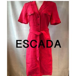 エスカーダ(ESCADA)のエスカーダワンピース(ひざ丈ワンピース)