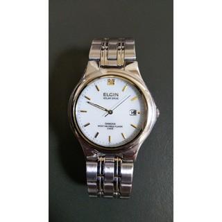 エルジン(ELGIN)のエルジン ソーラー 時計(腕時計(アナログ))