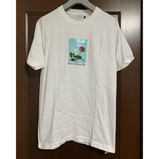 エフィレボル(.efiLevol)の.efilevol ローズプリントTシャツ(Tシャツ/カットソー(半袖/袖なし))