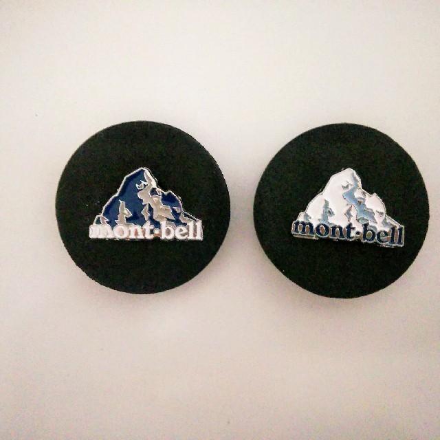 mont bell(モンベル)のモンベル バッチ セット エンタメ/ホビーのコレクション(ノベルティグッズ)の商品写真