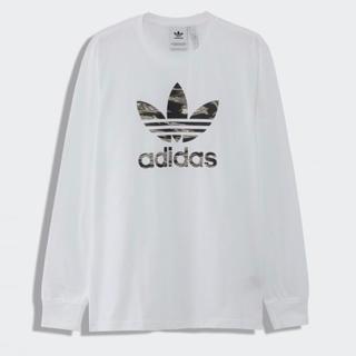 オリジナル(Original)の新品タグ付き adidas Originals CAMO TREFOIL(Tシャツ/カットソー(七分/長袖))