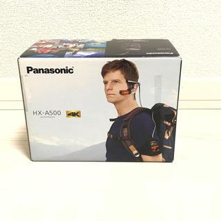 Panasonic - 付属品完備 パナソニック ウェアラブルカメラ グレー HX-A500-H
