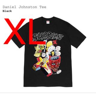 シュプリーム(Supreme)のsupreme dainel johnston tee ブラック XL(Tシャツ/カットソー(半袖/袖なし))