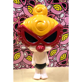 ヒステリックミニ(HYSTERIC MINI)のヒスミニ☆正規品☆新品☆ガラガラ☆ブラック☆おもちゃ☆BABY☆ドール☆人形(がらがら/ラトル)