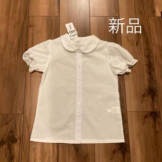 ニシマツヤ(西松屋)の半袖 ブラウス 120(ドレス/フォーマル)
