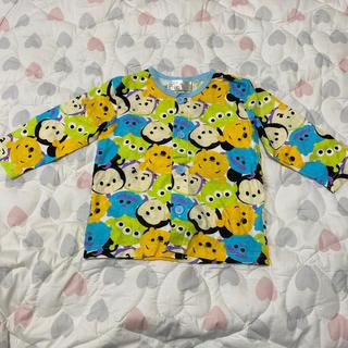 ディズニー(Disney)の未使用に近い! ツムツム パジャマ上のみ 80(パジャマ)
