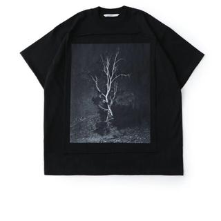 ジョンローレンスサリバン(JOHN LAWRENCE SULLIVAN)のJOHNLAWRENCESULLIVA フォトプリントオーバーサイズティーシャツ(Tシャツ/カットソー(半袖/袖なし))