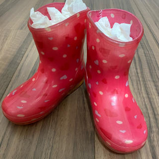 ディズニー(Disney)のキッズ 長靴 レインブーツ ディズニーミニーちゃん14cm(長靴/レインシューズ)