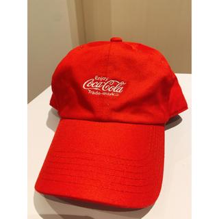 ウィゴー(WEGO)のキャップ 帽子 WEGO 赤(キャップ)