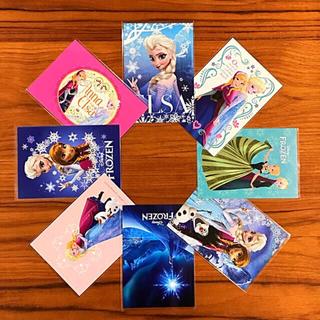 ディズニー(Disney)のアナと雪の女王  ポストカード 8枚セット (使用済み切手/官製はがき)