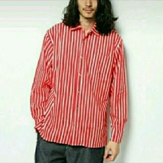 マリメッコ(marimekko)のmarimekko piccolo jakapoikaストライプシャツ(シャツ)