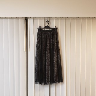 アウラアイラ(AULA AILA)の美品 アウラアイラ プリーツスカート(ロングスカート)