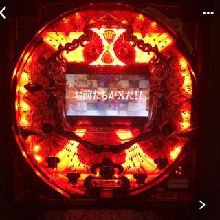 サンキョー(SANKYO)の【出品仕様必読】中古 X JAPAN 鑑賞用 卓上 パチンコ台(パチンコ/パチスロ)