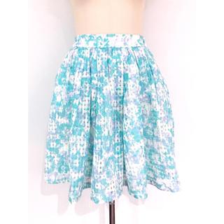 ミスティウーマン(mysty woman)のサマープリントスカート♡(ひざ丈スカート)
