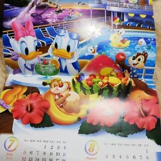 ディズニー(Disney)のディズニー カレンダー ミッキー 2020 非売品 第一生命(カレンダー/スケジュール)