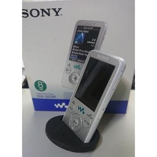 ウォークマン(WALKMAN)のソニー ウォークマン NW-S638F sony walkman (ポータブルプレーヤー)