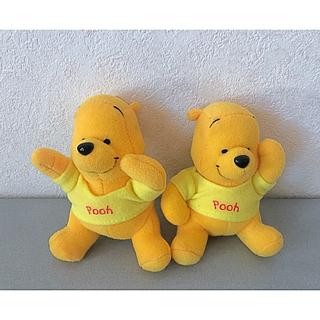クマノプーサン(くまのプーさん)の黄色Tシャツくまのプーさんキーホルダー(キーホルダー)
