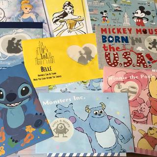 ディズニー(Disney)のレターセット 便箋 6種類(カード/レター/ラッピング)