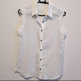 ビッキー(VICKY)の大処分価格!→VICKY ノースリーブシャツ ブラウス(シャツ/ブラウス(半袖/袖なし))