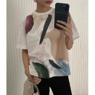 アメリヴィンテージ(Ameri VINTAGE)のMARY PAINTING TEE(Tシャツ(半袖/袖なし))
