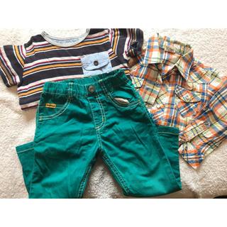 ビケット(Biquette)の男の子<90サイズ 夏>(Tシャツ/カットソー)