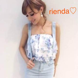 リエンダ(rienda)のリエンダ♡フラワーベアトップ(ベアトップ/チューブトップ)