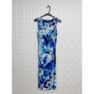 ETRO - ETRO エトロ 花柄 ワンピース ブルー