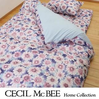 セシルマクビー(CECIL McBEE)の新品 西川✕セシルマクビー 布団カバーセット シングル 3点セット(シーツ/カバー)