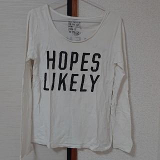 オゾック(OZOC)のプリント長袖Tシャツ Mサイズ(Tシャツ(長袖/七分))