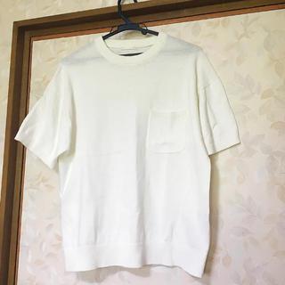 ジーユー(GU)の【新品・未使用品】GU Tシャツ(ニット/セーター)