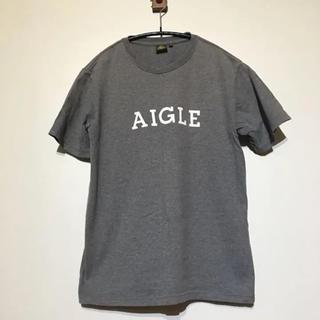 エーグル(AIGLE)の【AIGLE】ロゴTシャツ S エーグル(Tシャツ/カットソー(半袖/袖なし))