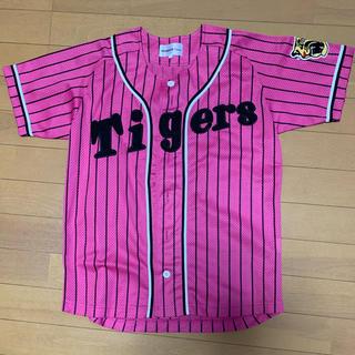 ハンシンタイガース(阪神タイガース)の阪神タイガース ユニフォーム ピンク Sサイズ(応援グッズ)