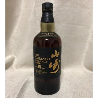 サントリー(サントリー)の山崎18年【開封済】(ウイスキー)