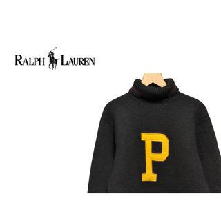 POLO RALPH LAUREN - POLO Ralph Lauren レタード タートルネック ニット