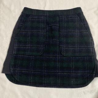 アミウ(AMIW)のAMIWデザインスカート(ひざ丈スカート)