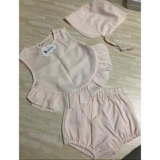 ボンポワン(Bonpoint)の新品 タグ付き 韓国子供服 セット  ピンク モンミミ モンベベ(ワンピース)
