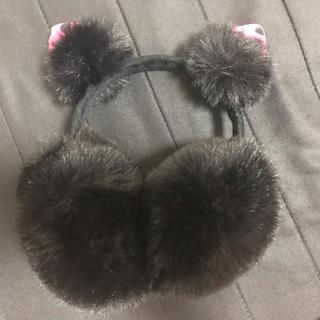 猫耳♡耳当て イヤーマフラー(イヤーマフ)