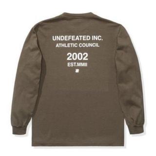 アンディフィーテッド(UNDEFEATED)のUNDEFEATED Fall`19 ATHLETIC COUNCIL 2002(Tシャツ/カットソー(七分/長袖))