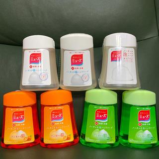 アースセイヤク(アース製薬)のミューズ ノータッチ 詰替 つめかえ ディスペンサー 7個(ボディソープ/石鹸)