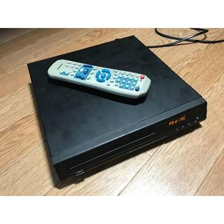 CPRM対応DVDプレイヤーリモコン付き 【故障品】 (DVDプレーヤー)