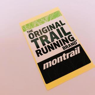 モントレイル(montrail)のモントレイル  ステッカー⭐️ノースフェイスやパタゴニア好きにも❗️(その他)