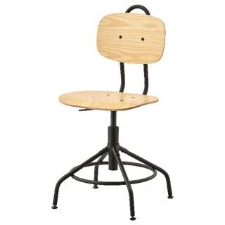 イケア(IKEA)のikea 椅子 チェア クッラベリ(デスクチェア)