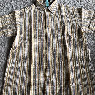 アラミス(Aramis)のチェックシャツ 半袖シャツ ARAMIS M クリーニング済(シャツ)