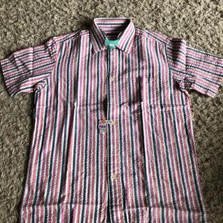 アラミス(Aramis)の半袖シャツ チェックシャツ ARAMIS クリーニング済(シャツ)