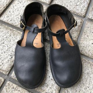 アウロラ(AURORA)のオーロラシューズ ウエストインディアン 黒(ローファー/革靴)