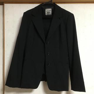 ミッシェルクラン(MICHEL KLEIN)のLサイズ ミッシェルクラウン黒スーツ(スーツ)