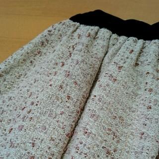 ダズリン(dazzlin)のラメツイードスカート(ミニスカート)