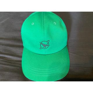 トゥエンティーフォーカラッツ(24karats)のTHROW YA FIST Low Cap キャップ 帽子 グリーン(国内アーティスト)
