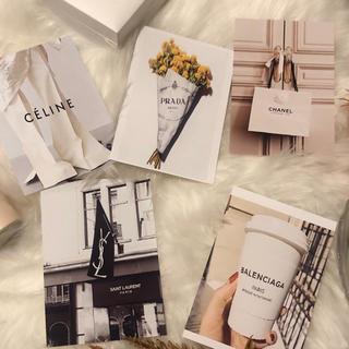 5枚セット●韓国ポストカード 海外ファッション(写真/ポストカード)