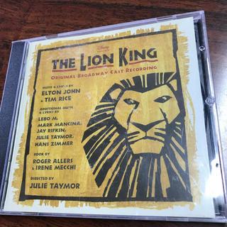 ディズニー(Disney)のTHE LION KING サントラ CD(アニメ)